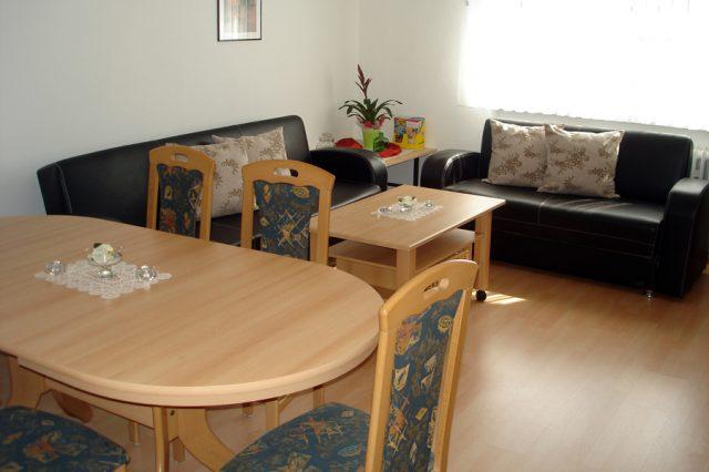 Ferienwohnung Erdgeschoß für 1-5 Personen