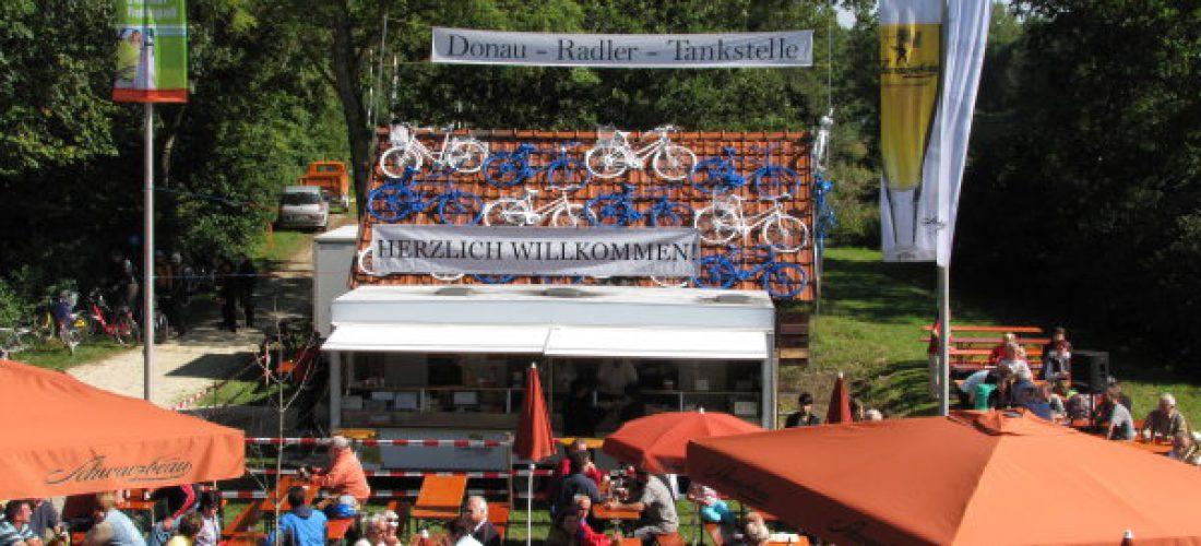 Donau-Radler-Tankstelle, Offingen am Radweg