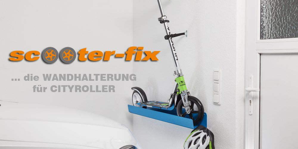 Wandhalter Scooter-fix